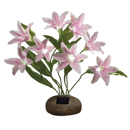 Solar Lily Bouquet Pink