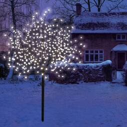 1.8M (400 Led) Illuminated Warm White Blossom Tree
