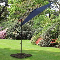 Cantilever Garden Parasol Navy