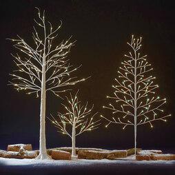 36 LED 60cm Silver Birch Tree