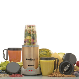 Cooks Professional NutriBlend 1000 Edition Blender 10piece Champagne