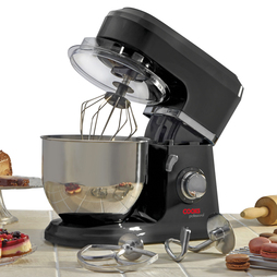 Cooks Professional Stand Mixer with Stainless Steel Bowl Black
