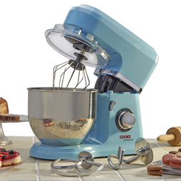 Cooks Professional Stand Mixer with Stainless Steel Bowl Blue