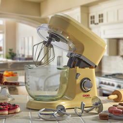 Cooks Professional Stand Mixer with Glass Bowl Cream