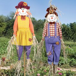 6ft Scarecrow Double Pack