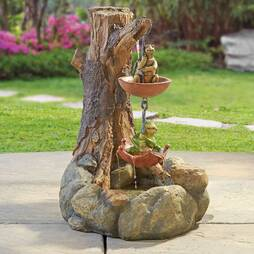 Turtle & Frog Fountain