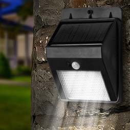 Solar 8 Led Motion Sensor Light