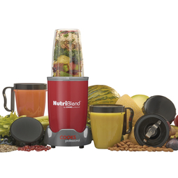 Cooks Professional Nutriblend 700w Blender 10piece Nutriblend Red