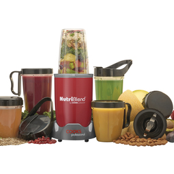 Cooks Professional Nutriblend 700w Blender 15piece Nutriblend Red