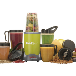 Cooks Professional Nutriblend 700w Blender 15piece Nutriblend Green