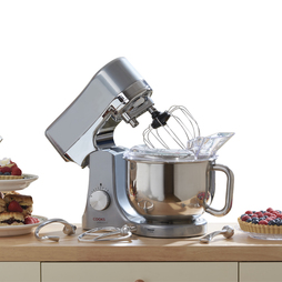 1200W Cooks Professional Die Cast Stand Mixer Silver