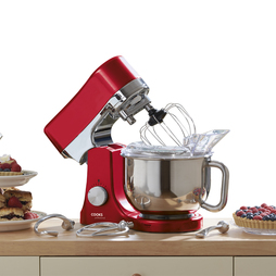 1200W Cooks Professional Die Cast Stand Mixer Red