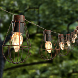 Solar String Light (Small Bulb)