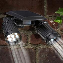 Solar PIRTwin Spotlight