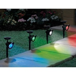 Set of Two Colour Changing Spotlights