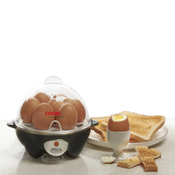 Cooks Professional Egg Boiler and Poacher Black