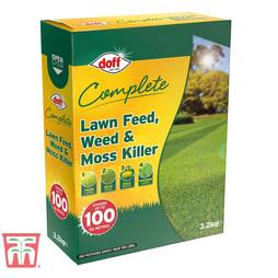 Doff 4 in 1 Complete Lawn Feed, Weed & Moss killer