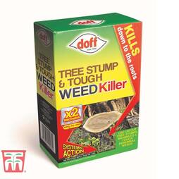Tree Stump & Tough Weedkiller sachets