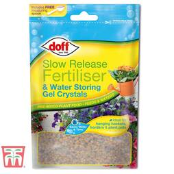 Slow Release Fertiliser & Water Storing Gel Crystals