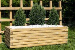Medium 90cm Long Wooden Planter