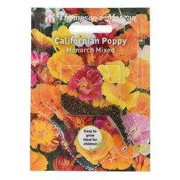 Californian Poppy 'Monarch Mixed' (Sow Clear)