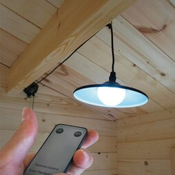 Solar Shed Lamp with Remote Control