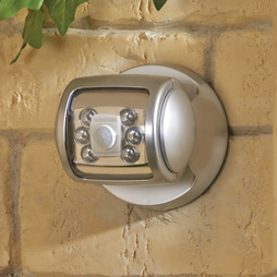 6 Led Porch Sensor Light Silver