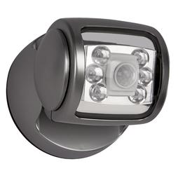 6 Led Porch Sensor Light Graphite