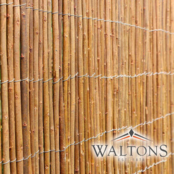 WILLOW FENCE SCREENING ROLLS 100 x 400cm (1m x 4m)