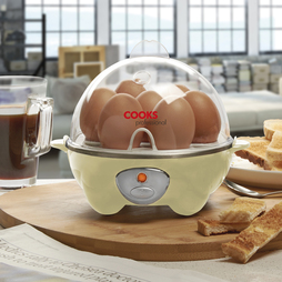 Cooks Professional Egg Boiler and Poacher Cream