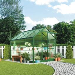Greenhouse 6.2X8.3X6.6ft Green