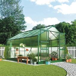 Greenhouse 8.1X10.1X7.4ft Green