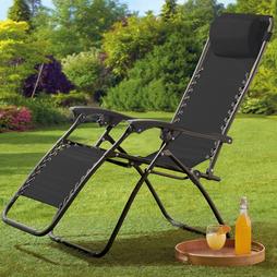 Garden Gear Zero Gravity Chair Black