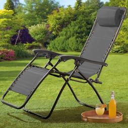 Garden Gear Zero Gravity Chair Grey