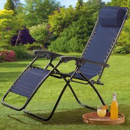 Garden Gear Zero Gravity Chair Navy