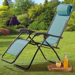 Garden Gear Zero Gravity Chair Blue