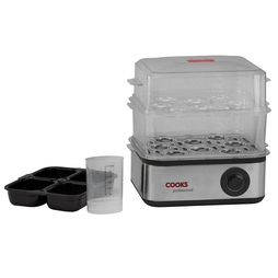 Cooks Professional Two Tier Egg Boiler and Poacher