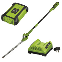 Aerotek 40V Cordless Pole Trimmer With Charger and Battery
