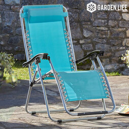 Zero Gravity Chair Standard Marine Blue