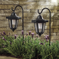 Solar LED Hanging Coach Lanterns