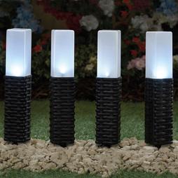 Rattan Solar Stake Lights