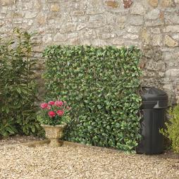 Artificial Evergreen Hedge Trellis 0.6x1.8M