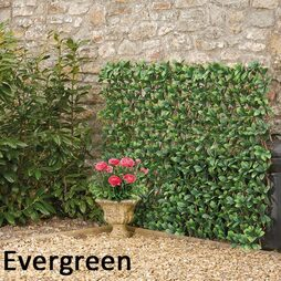 Artificial Evergreen Hedge Trellis 1X2M