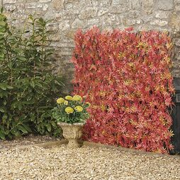 Artificial Red Maple Hedge Trellis 1X2M