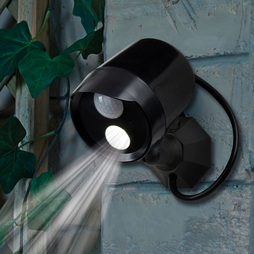 Battery Powered Led Solar Light With Motion Sensor