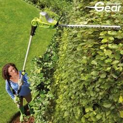 Garden Gear 20V Cordless Lithiumion Telescopic Hedge Trimmer