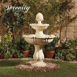 3 Tier Stone Effect Water Feature