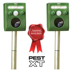 Pest XT Ultrasonic-Flash Pest Repeller - Twin Pack