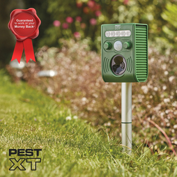 PEST XT SOLAR U/SONIC/FLASH PEST REPELLE