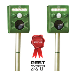 Pest XT Ultrasonic-Flash Pest Repeller - Twin Pack